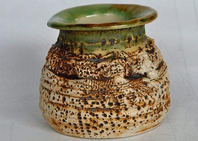 Birch Vase Stoneware Reduction Fired