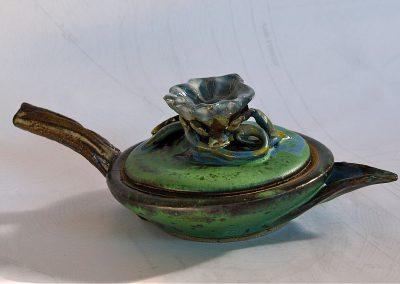 Venus Gravy Catcher Stoneware Reduction Fired