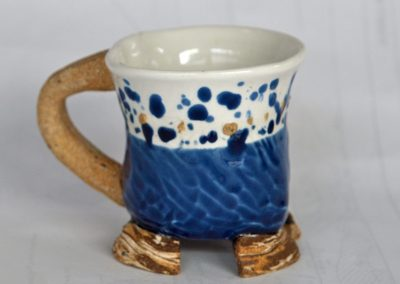 walking cup Porcelain and Stoneware Reduction Fired
