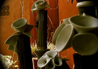 Alien Botanical Grouping, Los Angeles, Stoneware & Porcelain
