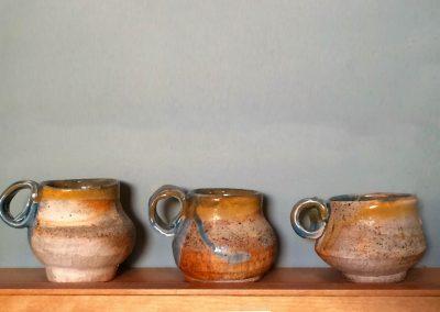Espresso Cups Kazegama Ash-Fired Porcelain