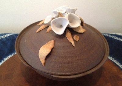 Alien Botanical Lidded Tureen Porcelain & Stoneware Reduction Fired
