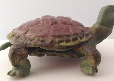 """Turtle"" 7""x3"" Earthenware"