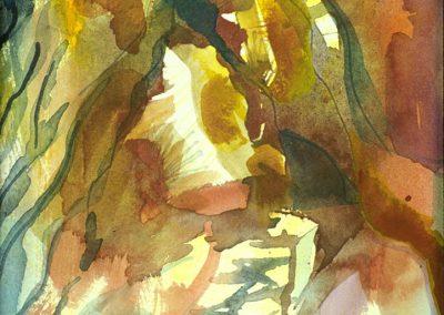 """Mountain"" 8""x 12"" Watercolor"