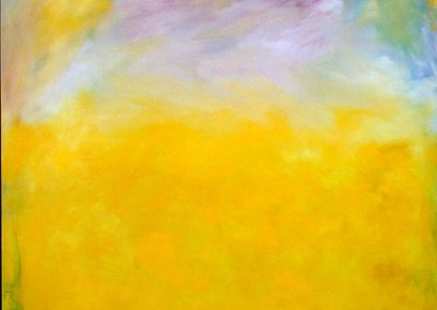 """""""Yellow Field"""" 48""""x72"""" Oil on Canvas"""