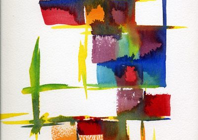 """Sunday"" 8""x12"" Watercolor"