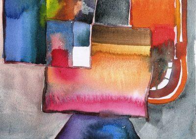 """""""Susan"""" 8""""x8"""" Watercolor"""