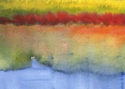 """Richard River"" 8""x9"" Watercolor"