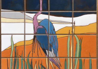 Standing-Heron