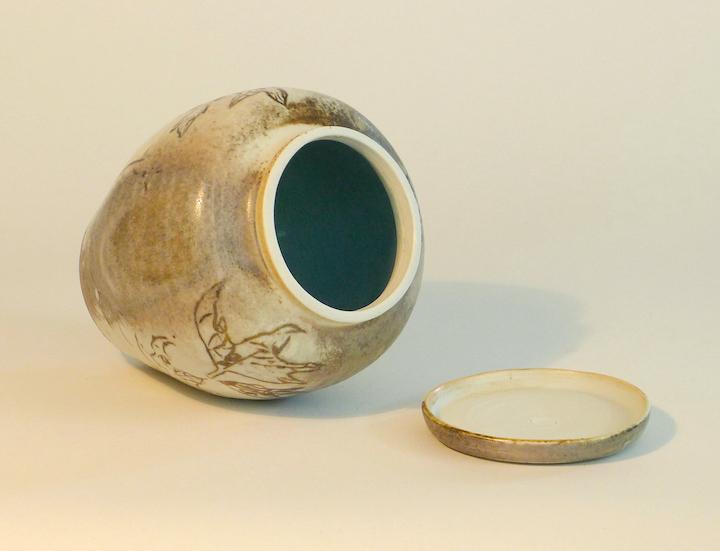 Sycamore big jar inside 3